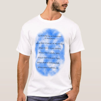 Camiseta Rezo de St Francis de Assisi