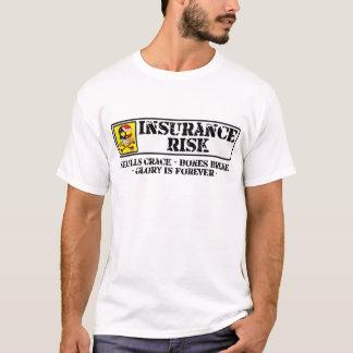 Camiseta Riesgo del seguro - grieta de los cráneos - rotura