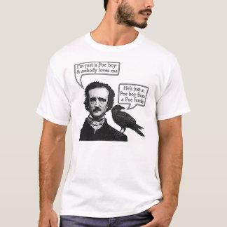 Camiseta Riffs de Edgar Allan Poe en la rapsodia bohemia de