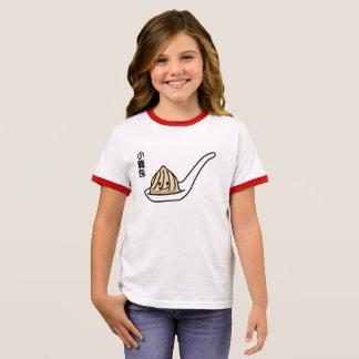 Camiseta Ringer Bollo chino de Dim Sum de la bola de masa hervida