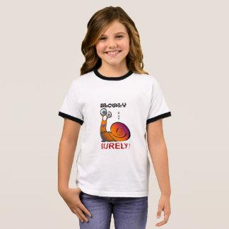 Camiseta Ringer Caracol colorido