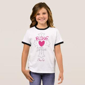 Camiseta Ringer Chicas de la vida de Bling I Bling para la