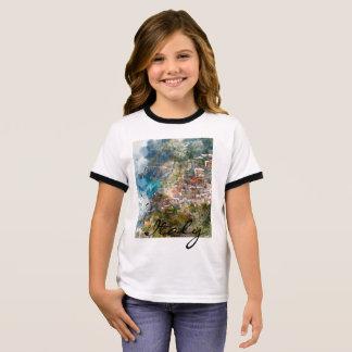 Camiseta Ringer Cinque Terre Italia en la Riviera italiana