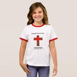 Camiseta Ringer Cruz Roja original (chicas)