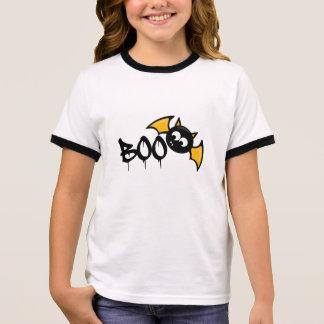 Camiseta Ringer Cute víspera de todos los santos Boo Pidió -