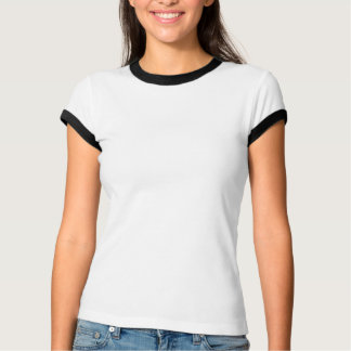 Camiseta Ringer Grande De Mujeres Personalizada