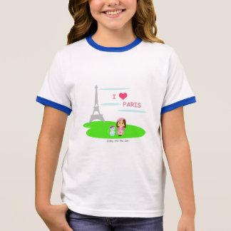 Camiseta Ringer I love Paris