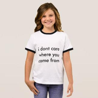 Camiseta Ringer No hago judge❤️
