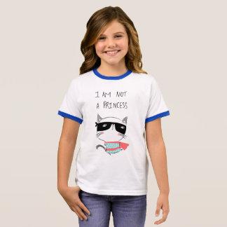 Camiseta Ringer No soy princesa