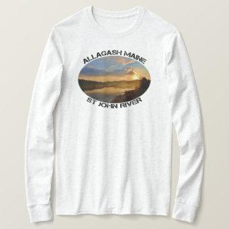 Camiseta Río de Allagash Maine St John