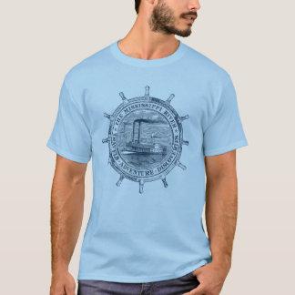 Camiseta Río Misisipi. Viajes. Aventura. Descubrimientos