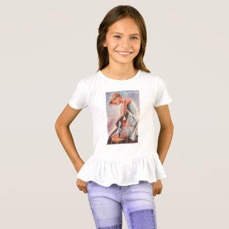 Camiseta rizada ensayo de la danza