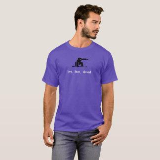 Camiseta RKOriginals. Snowboard. Fragmento vivo del amor