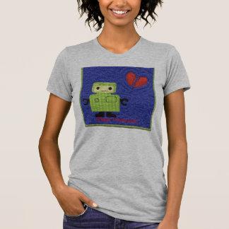 Camiseta robot, señal sonora; Le falto