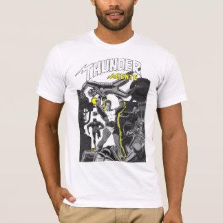 Camiseta Robots de lucha del super héroe retro de la
