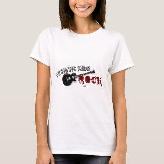 Camiseta Roca autística de los niños