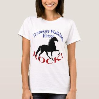 Camiseta Roca de los caballos de Tennessee que camina