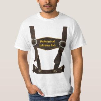 Camiseta Roca de los Lederhosen del und de Oktoberfest