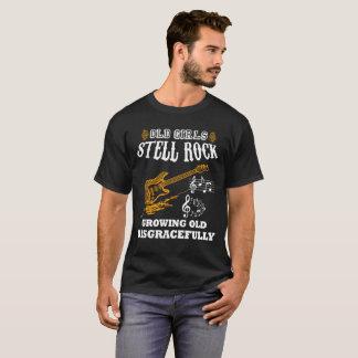 Camiseta Roca vieja de Stell de los chicas que crece