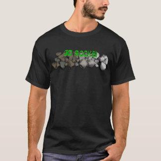 Camiseta ¡rocas 3D!