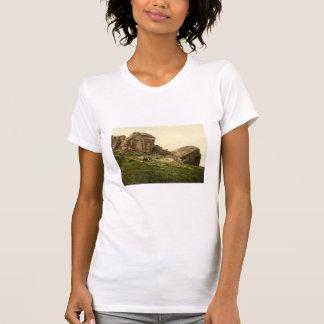 Camiseta Rocas de la vaca y del becerro, Ilkley, Yorkshire,