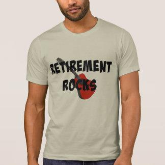 Camiseta Rocas del retiro, guitarra roja