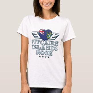 Camiseta Rocas v2 de las islas de Pitcairn