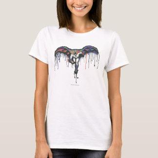 Camiseta Rociada de Batman pintada
