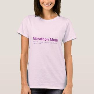 Camiseta Rock-and-roll Marath de la mamá del maratón… -