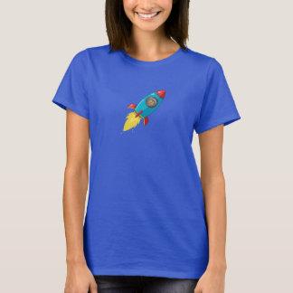 Camiseta Rocket oscuro de las mujeres de Tabitha Fink
