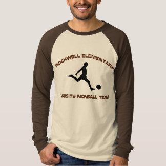 Camiseta Rockwell KickBall lo cubrió