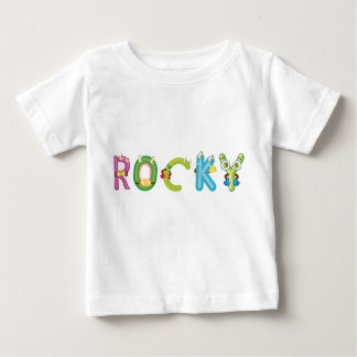 Camiseta rocosa del bebé