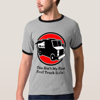 """Camiseta rodeo del camión de la comida"""" del canal"""