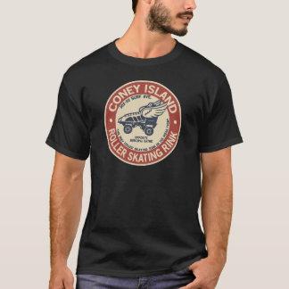 Camiseta Rodillo de Coney Island del vintage que estaca la