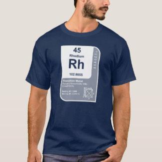 Camiseta Rodio (Rh)