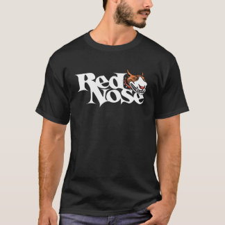 Camiseta roja de Pitbull del día de la nariz