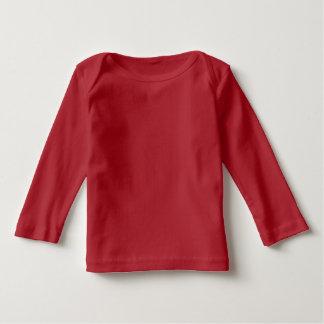 Camiseta roja del día de fiesta de la casa de pan