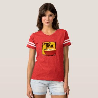 Camiseta roja moderna de Pho Sho de los Ramen para