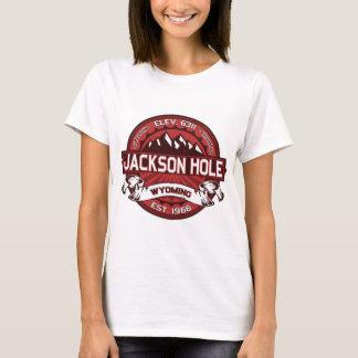 Camiseta Rojo de Jackson Hole