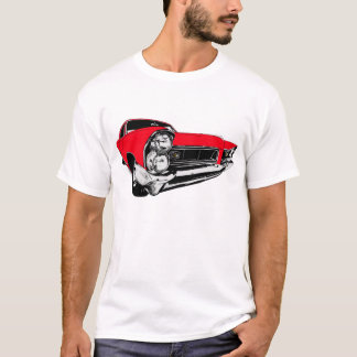 Camiseta Rojo Pontiac 1965 Grand Prix