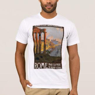 Camiseta Roma por el Mont Cenis expreso