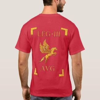 Camiseta romana de 3 Legio III Augusta Vexillum
