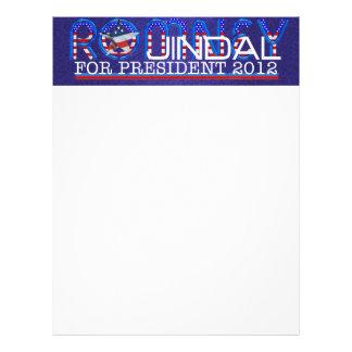 CAMISETA Romney Jindal Flyer Personalizado
