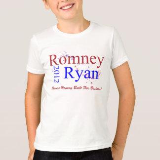 Camiseta Romney/onda de la estrella de Ryan