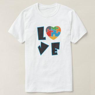 Camiseta Rompecabezas del amor