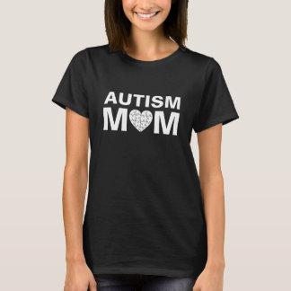 Camiseta Rompecabezas del amor del corazón de la mamá del