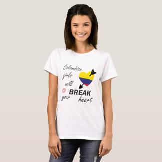 Camiseta Rompecorazones colombiano