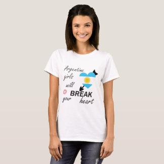 Camiseta Rompecorazones de Argentina