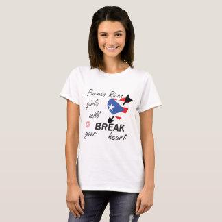 Camiseta Rompecorazones puertorriqueño