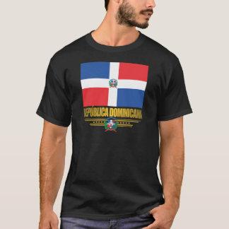 Camiseta Ropa de la bandera de la República Dominicana